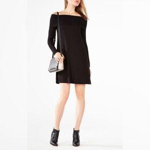 NWT BCBG Max Azria Abril Off-The-Shoulder Dress